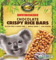 Nature's Path EnvitoKidz Organic Chocolate Crispy Rice Granola Bars