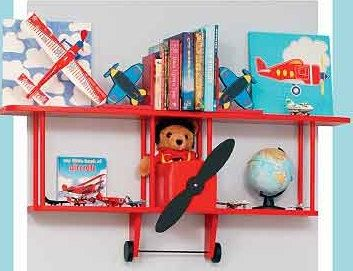 BiPlane Wall Shelf by Midwestclassiccrafts on Etsy. I wonder in my husband could make this. It's adorable