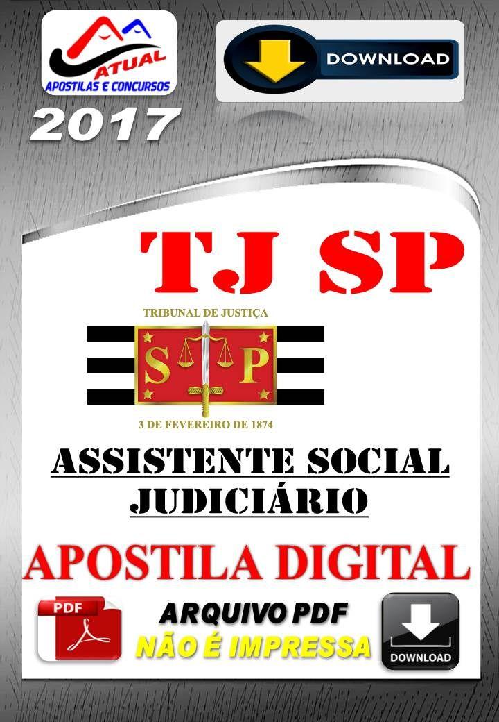 Apostila Concurso TJ SP Assistente Social Judiciario 2017