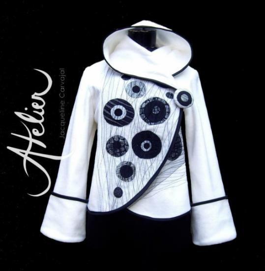 chaqueta polar morgana polar hecha a mano