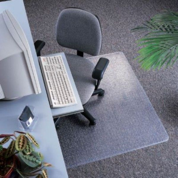 Buy Office Chair Mat Studded Rectangular 115 X 135 Cm At Affordable