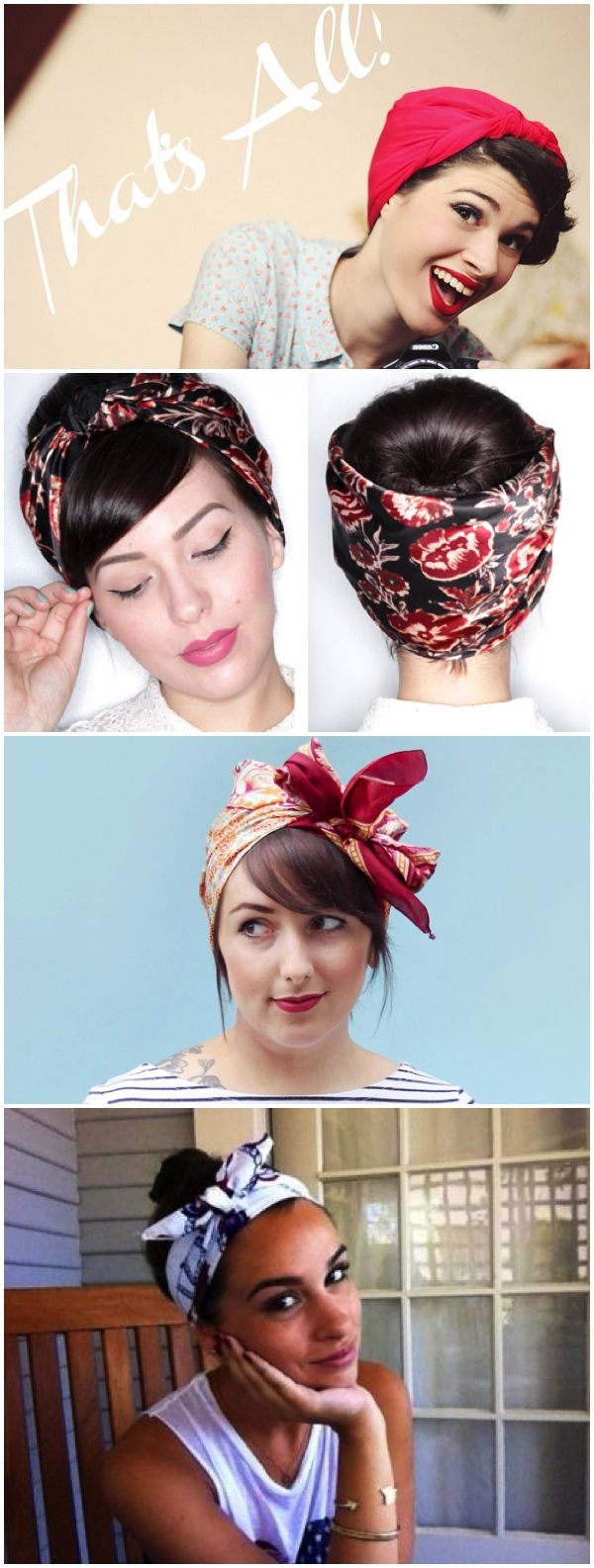 Este verano, ponte pañuelo en la cabeza/ This summer, wrap the headscarf up