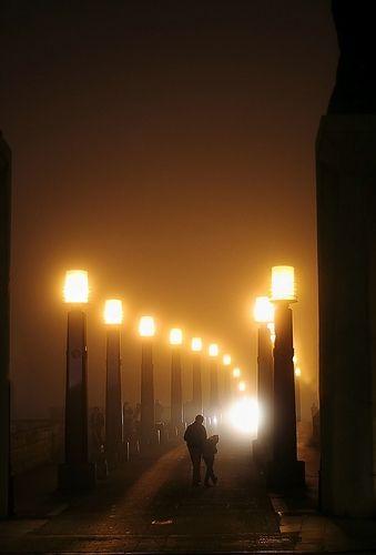 198-365 Una noche de niebla | Flickr - Photo Sharing!