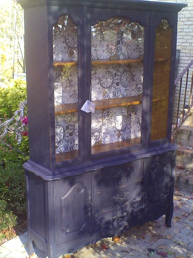 Such A Great FP Painted China Hutch
