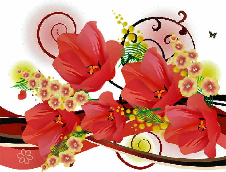 Flores de Primavera, flores,
