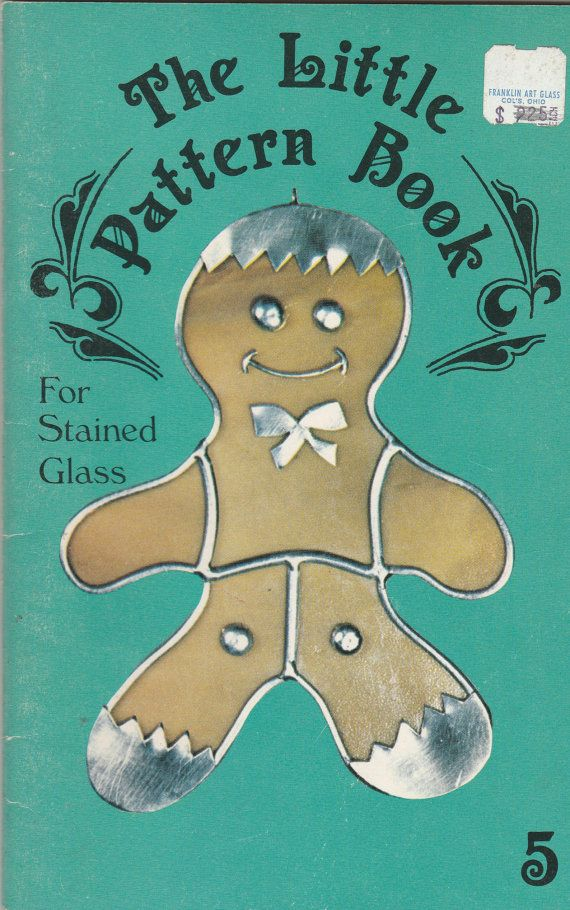 Vintage The Little Pattern Book for Stained by ShopHereVintage2