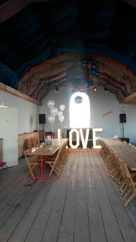 Love letters te huur. Mooi voor iedere bruiloft.