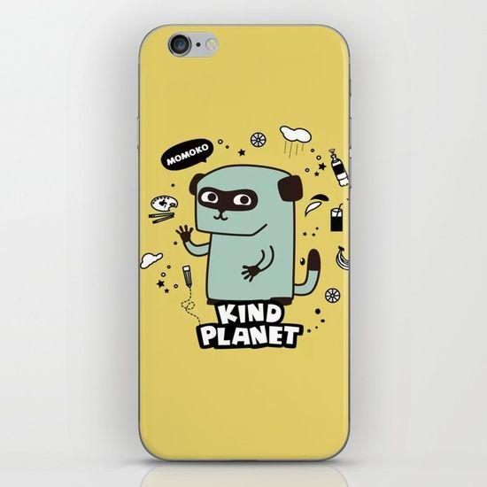 KIND PLANET iPhone & iPod Skin