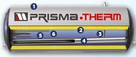 Ηλιακός θερμοσίφωνας με επιλεκτικό συλλέκτη PrismaTherm
