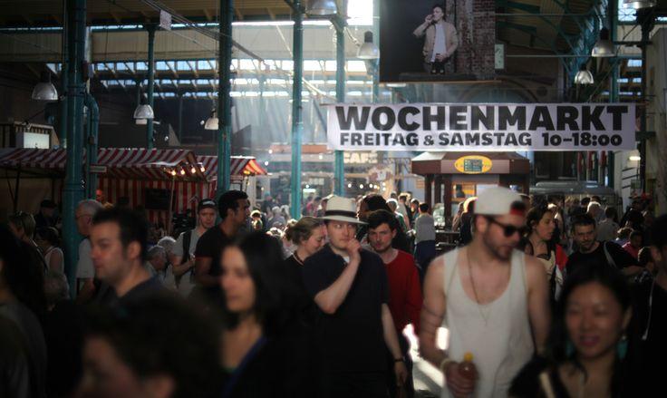 STREETFOOD THURSDAY - jeden Donnerstag in der Markthalle Neun in Berlin