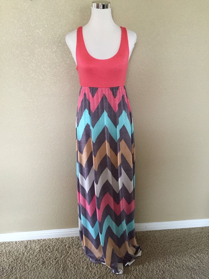Maxi Dress chevron maxi dress maxi dresses pink chevron maxi dress womens dresses womens clothes chevron dress S, M, L by DecorPlace on Etsy https://www.etsy.com/listing/233906810/maxi-dress-chevron-maxi-dress-maxi