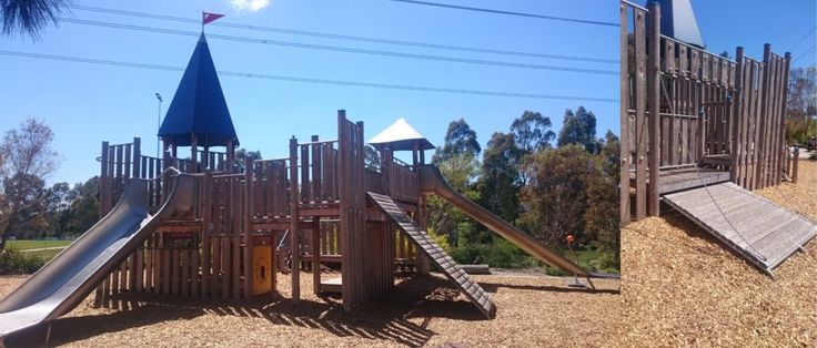 De Chene Reserve playground (Coburg) is perfect for your little prince or princess. Reviewed on the Melbourne Munchkin blog.