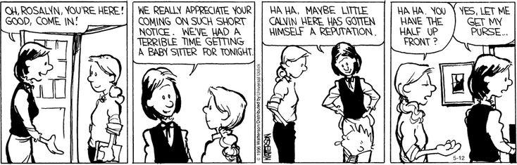 Calvin and Hobbes Comic Strip, May 12, 2016     on GoComics.com