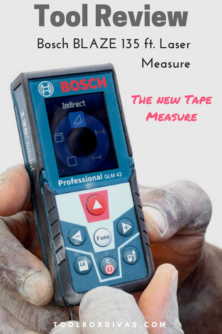 Review Of Bosch Blaze 135 Ft Laser Measure The New Tape Measure Used Woodworking Tools Tape Measure Learn Woodworking