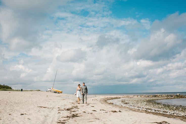 Brautpaarshooting am Strand von Behrensdorf / Ostsee