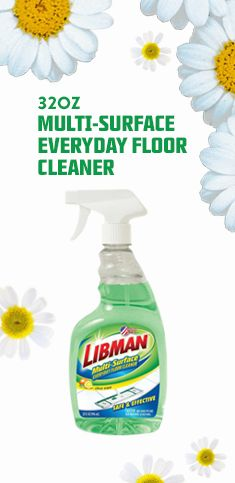 Cleans away dirt & grime, leaving a sparkling clean floor. Use on tile, wood, vinyl, laminate, linoleum, and other hard surface floors.