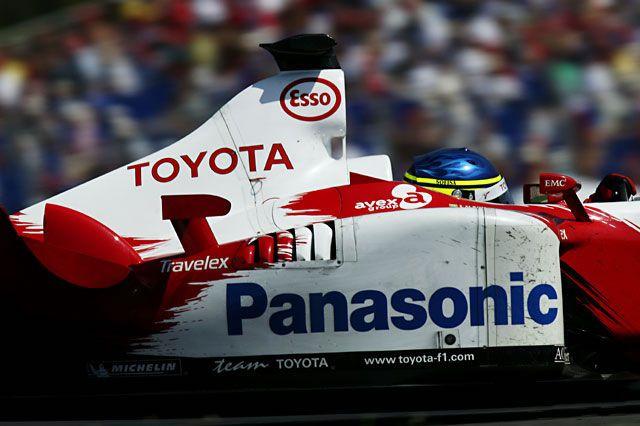 2003 Nurburgring Toyota TF103 Christiano da Matta