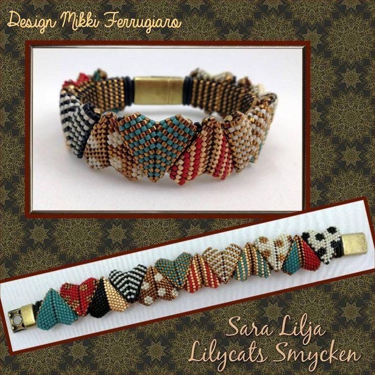 #armband #smycken #pärlor #delicabeads #peyotestitch #handgjordasmycken #handgjort #bracelets #bracelet #jewelry #handmade #beads #miyukibeads #miyuki #seedbeads