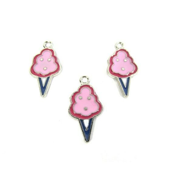 Check out this item in my Etsy shop https://www.etsy.com/listing/253386713/pink-cotton-candy-charms-candy-charms
