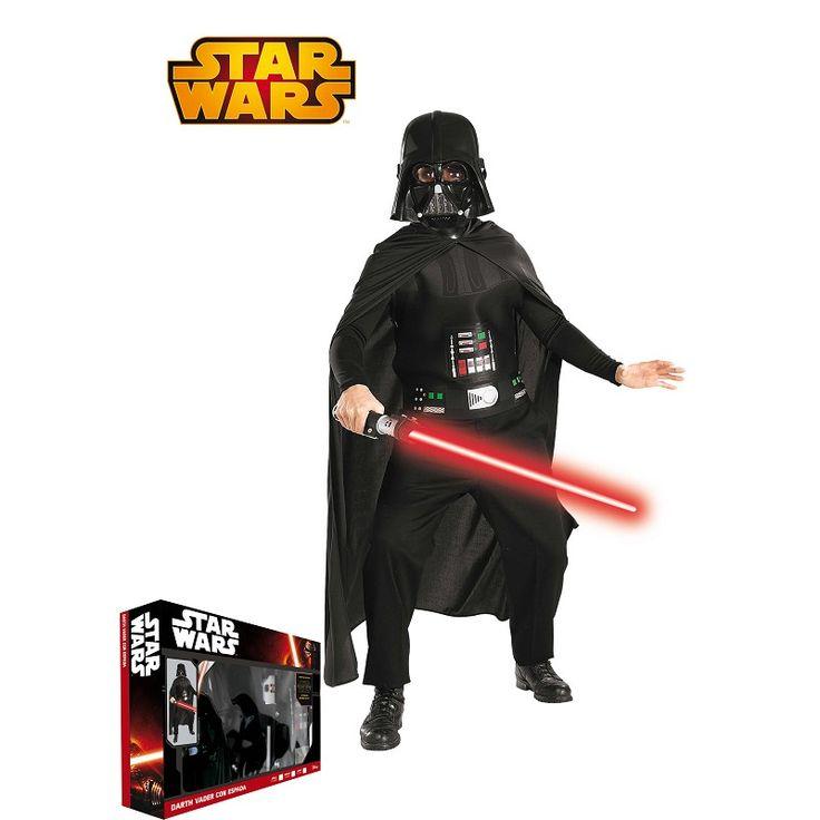 Disfraz Darth Vader C/Espada En Caja Infantil