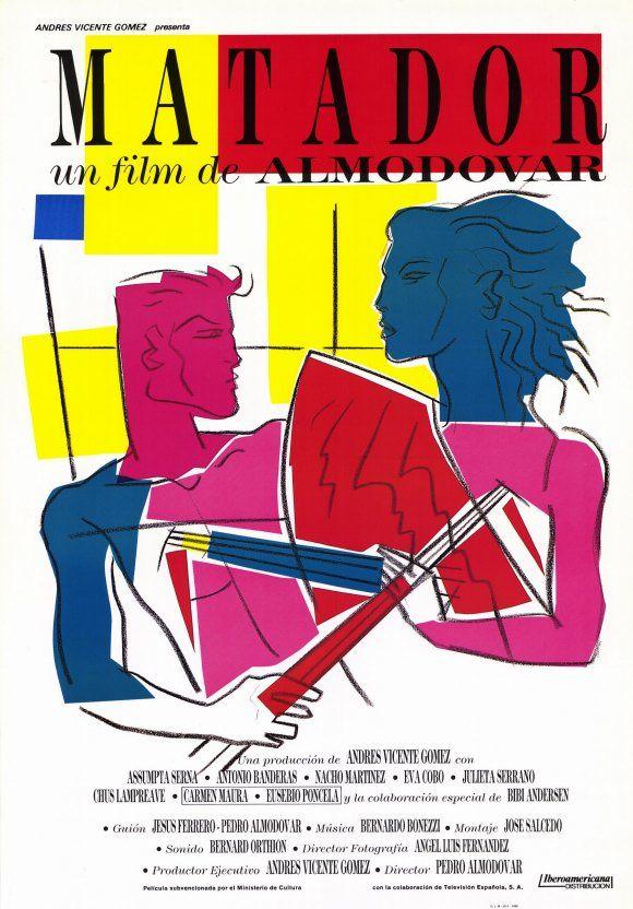 MATADOR , Pedro Almodóvar - 1986