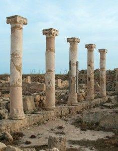 Kourion, Cyprus https://www.stopsleepgo.com/vacation-rentals/cyprus