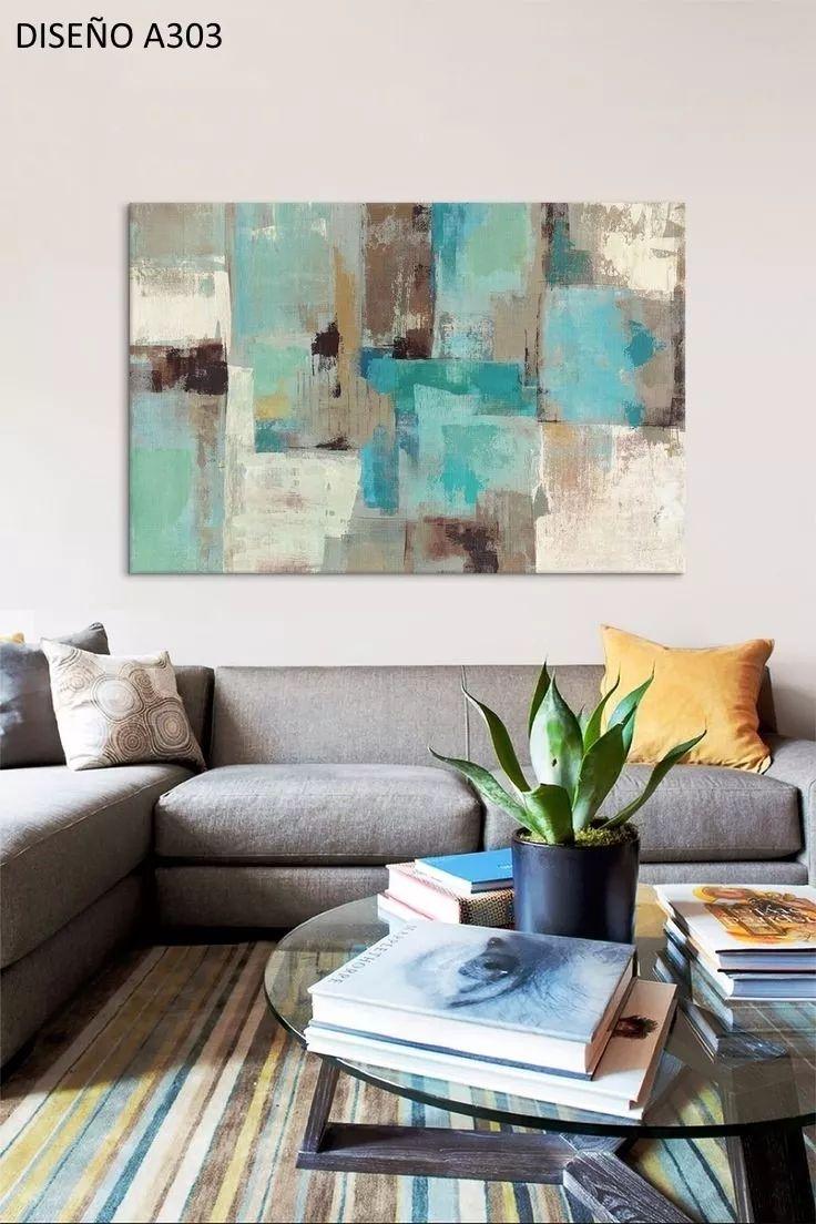 Las 25 mejores ideas sobre oleos abstractos en pinterest - Pinturas para salones modernos ...
