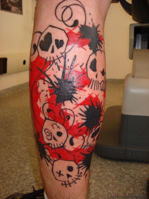 Skulls Tattoo. www.velvetstudio.fr