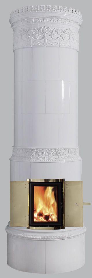 KRONA® 45.1H; Reimann's Krona Kachelöfen, originalgetreue Replikate antiker schwedischer Kachelofen-Klassiker