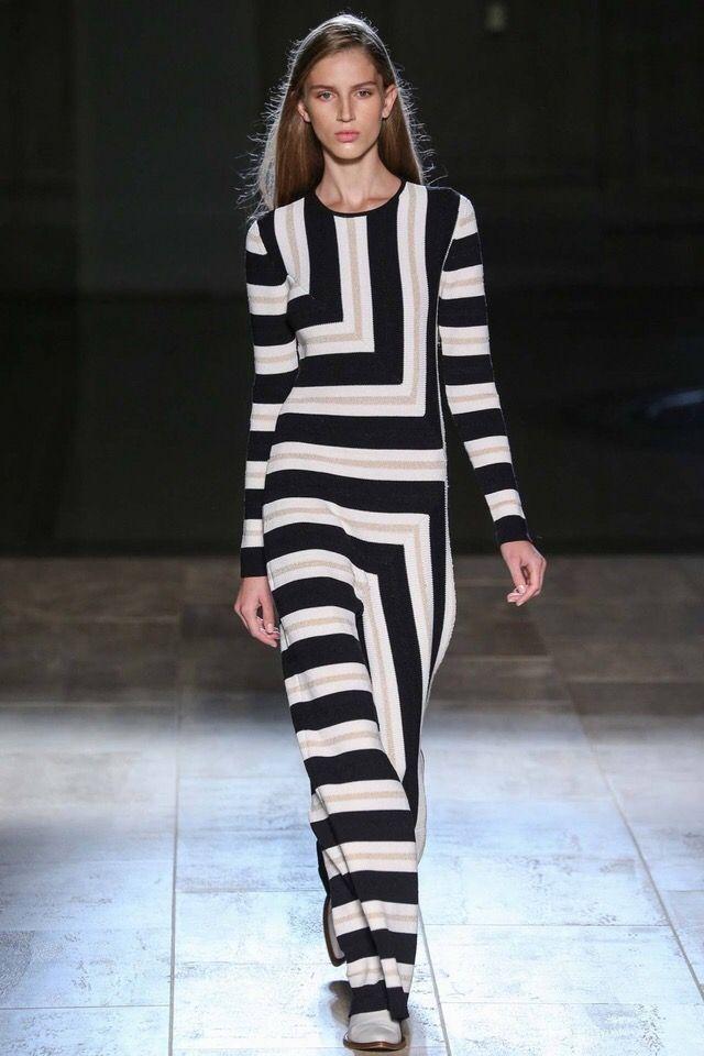 #NYFW Victoria Beckham Geometry