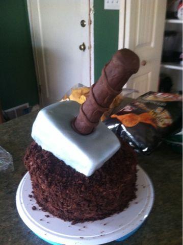 Eat My Design: Thor's Hammer Cake