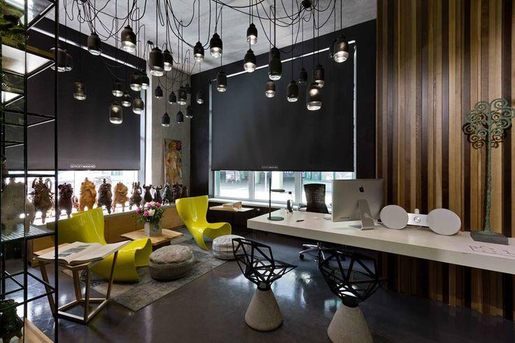 Office and showroom of architectural workshop Sergey Makhno  instalacion electrica vista!!!!