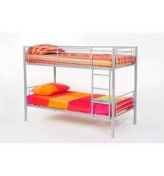lit superpos s parable en m tal coloris gris lits superpos s pinterest mezzanine. Black Bedroom Furniture Sets. Home Design Ideas
