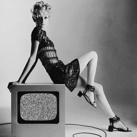 Tv Twiggy gif by Sketchaganda Twiggy