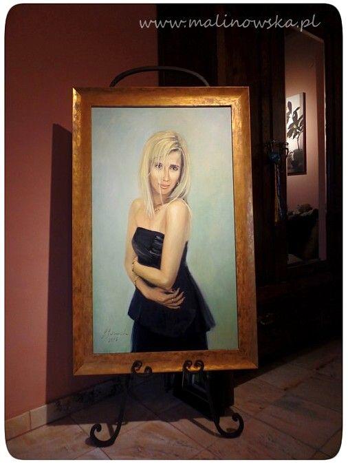 Najnowszy portret  60 x 100 cm