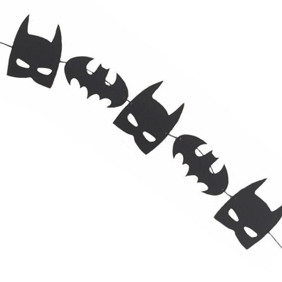 Batman Banner - RTS Banner - Batman Birthday - Superhero Banner - Superhero Birthday - Batman Decor - Superhero Decoration -Batman Garland