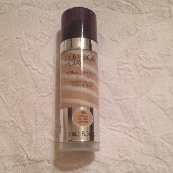 CoverGirl + Olay New & Sealed Tone Rehab 2N1 foundation base . 155 soft honey. Foundation & Primer. Look at all listings // Bundles are 15% off CoverGirl Makeup Foundation