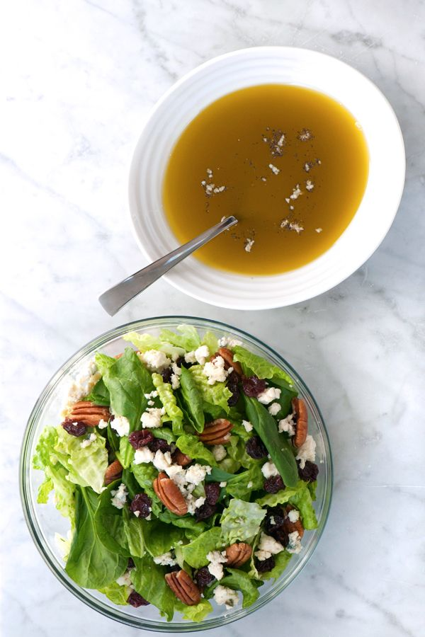 DeLallo.com Salads and Dressings | Insalate Recipes: Golden Balsamic Vinaigrette - SaladSavors™ Inspiration