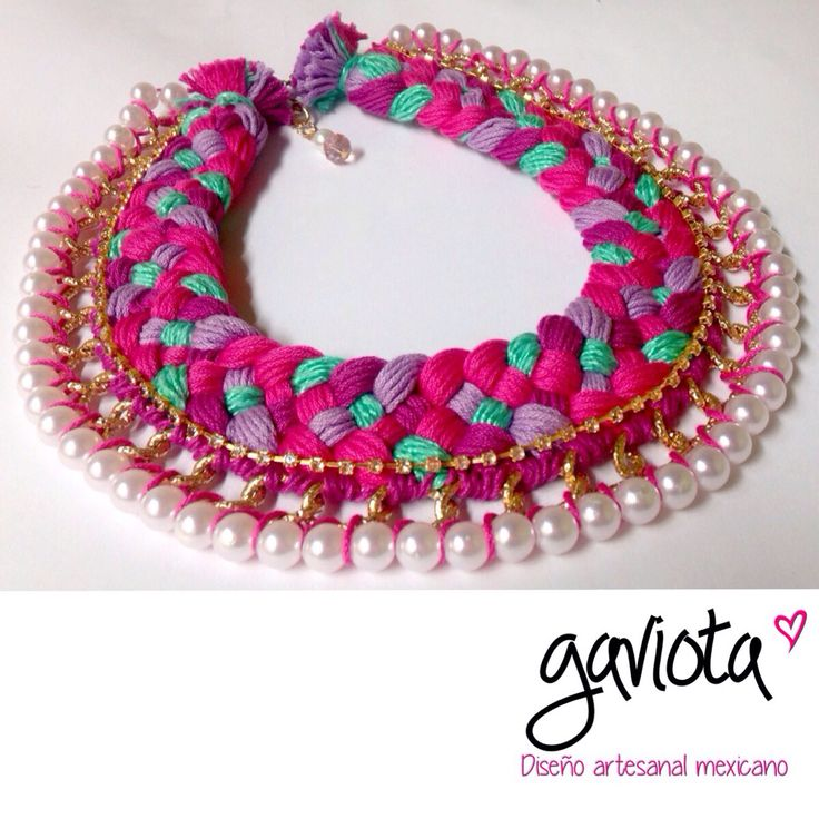 32 best images about Collares artesanales mexicanos on Pinterest Colors, Facebook and Tejido