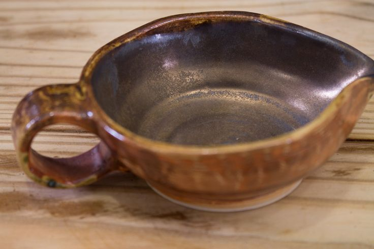 Ceramic Gravy Boat (18.00 USD) by DancingFlamesPottery