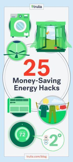 These 25 hacks are simple and smart ways to actual save a ton of money on energy bills. Pin now, read later!