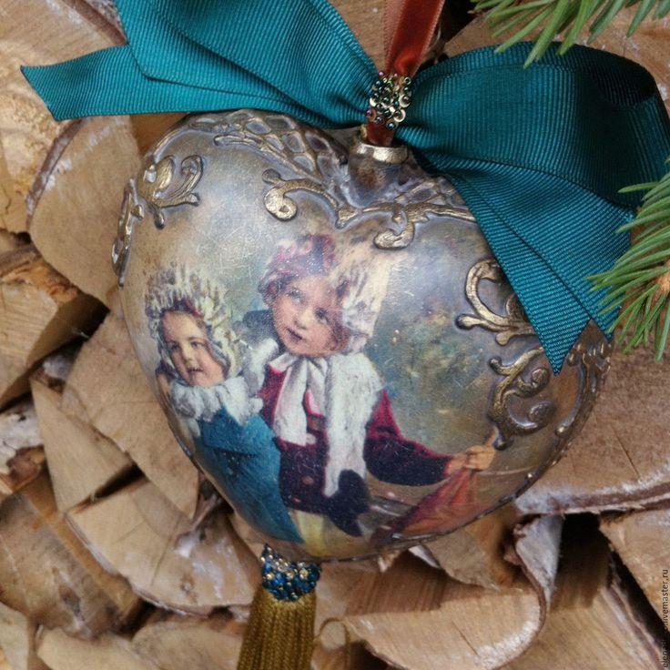 """Купить """"Sisters"""" Большое Интерьерное Сердце - Новый Год, новый год 2016, рождество, рождественский подарок"""