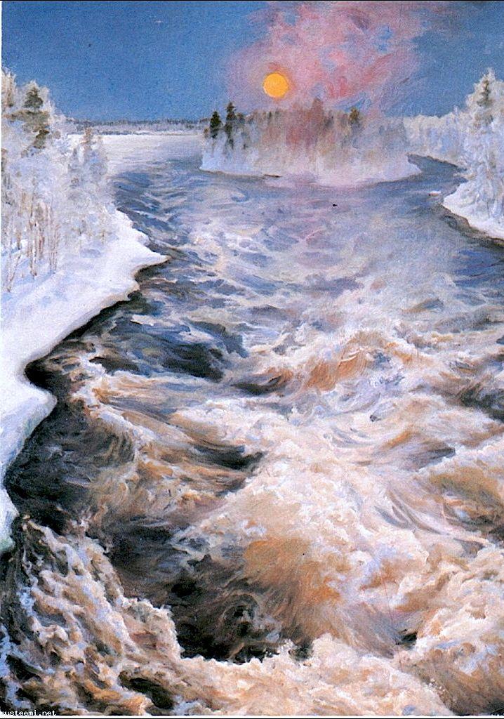 Imatra (River) Akseli Gallen-Kallela