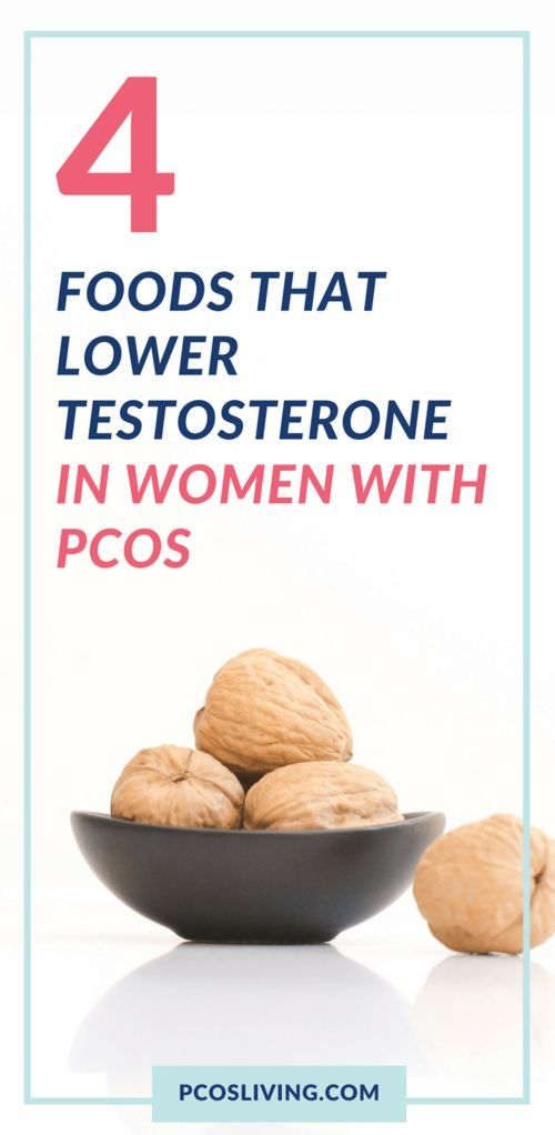 4 Foods that Lower Testosterone in Women with PCOS | PCOS