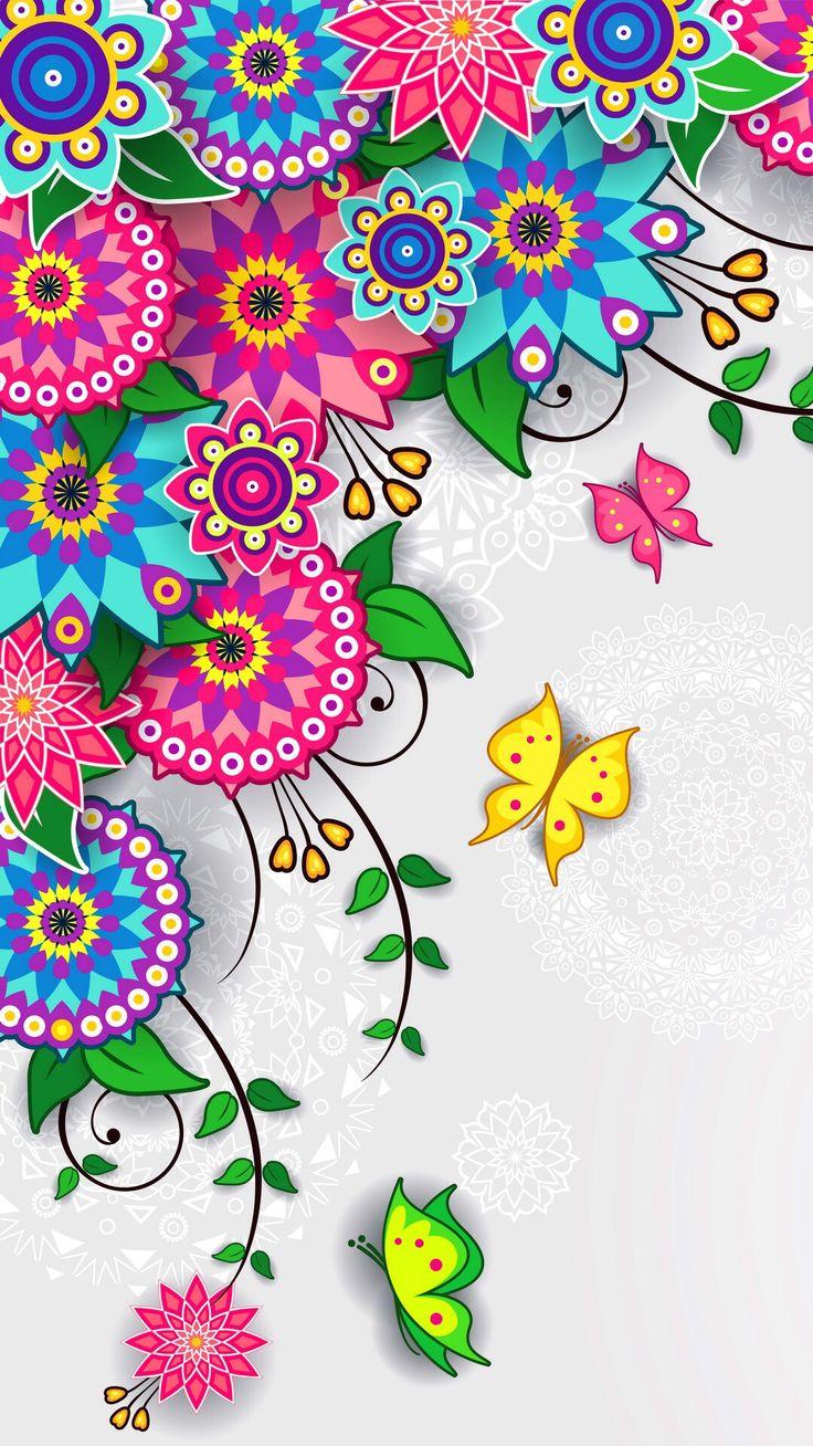 Butterfly Pattern Wallpaper | www.imgkid.com - The Image ...