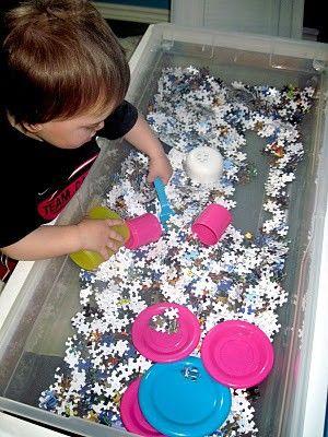 puzzeltafel: eindelijk een oplossing voor je incomplete puzzels..