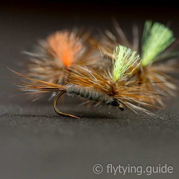 Adams Parachute - Tying Instructions - Fly Tying Guide