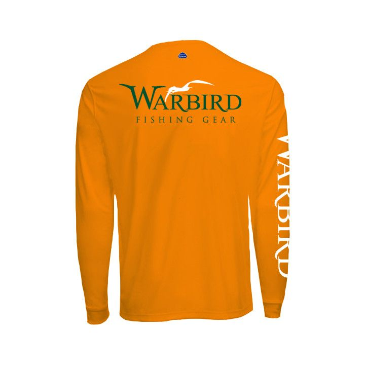 Men's OTP UV Shirt: Orange Gameday Warbird