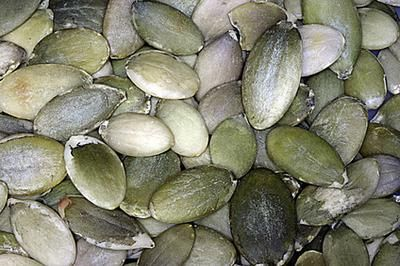 List of Iron-Rich Foods for Vegetarians -   Pumpkin seeds, beans, egg (yolks), kale, broccoli, tomatoes, tofu, fortified whole grains, potatoes, sweet potatoes, molasses.  Pair non-heme (non-meat) sources with vitamin C to increase absorption.  Avoid drinking too much coffee/tea/red wine (tannins decrease absorption) or eating/drinking dairy products.  Use a cast iron skillet to cook your food.  Spinach is high in iron but high in oxalates that block absorption.