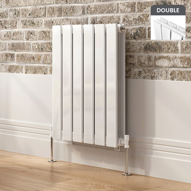 Hayes Horizontal Flat Panel Radiator in White 600mmx456mm - soak.com